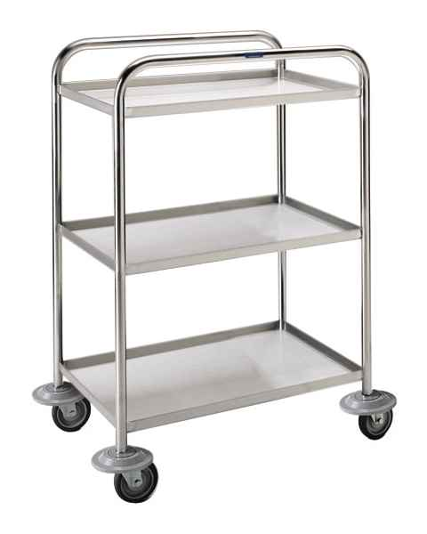 Pedigo Lightweight Stainless Steel Utility Cart