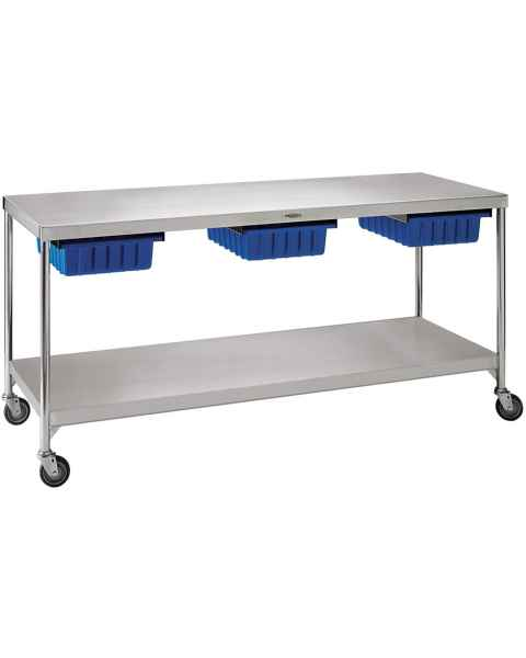 "Pedigo Central Supply Work Table 72"" W x 24"" D x 34"" H"