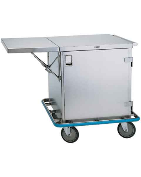 Pedigo Small Stainless Steel Surgical Case Cart