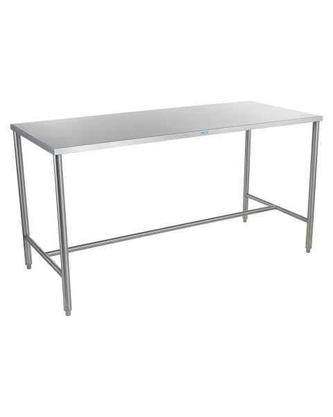 Blickman Stainless Steel Work Table with H-Brace