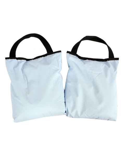 "Cervical Sandbag Set - Two, 10 lb, 10"" x 12"" Bags"