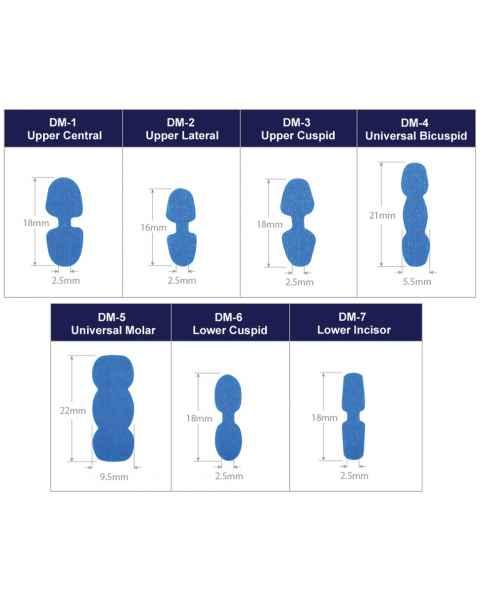 Suremark Scaneez DentureMark Stick 'n Scan Cone Beam Markers