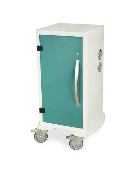 "Harloff Model DSC24S Short Savary Dilator Storage Cart for Dilators up to 28""L - Key Lock"