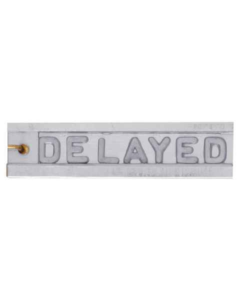 "Enclosed Marker - Letter Height 1/4"" - 6 to 10 Characters"