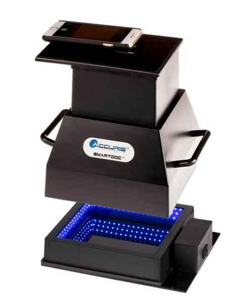 Accuris SmartDoc 2.0 System with Blue Light Illumination Base