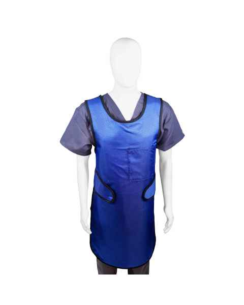 Techno-Aide 0.5mm Super-Lite Lead-Free EZ Front Apron with Hook & Loop Closure