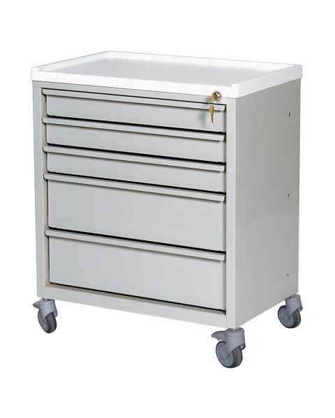 ETC Line Treatment Cart - Five Drawer