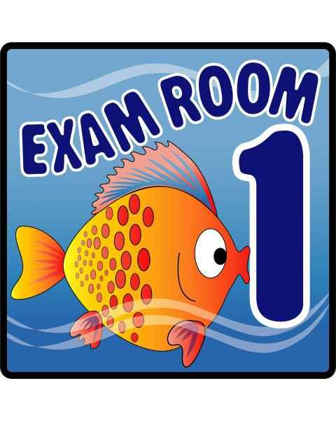 Clinton Ocean Series Exam Room 1 Sign