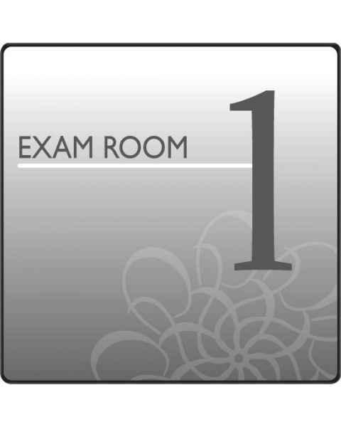 Clinton EX1-S Standard Exam Room Sign 1