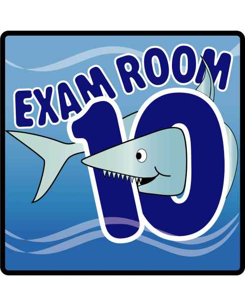 Clinton Ocean Series Exam Room 10 Sign