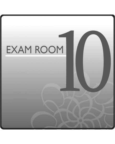 Clinton EX10-S Standard Exam Room Sign 10