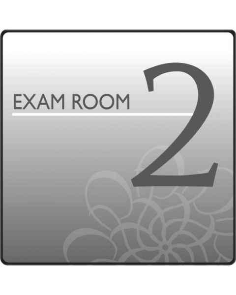 Clinton EX2-S Standard Exam Room Sign 2