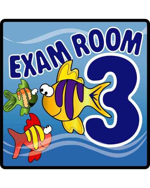 Clinton Ocean Series Exam Room 3 Sign
