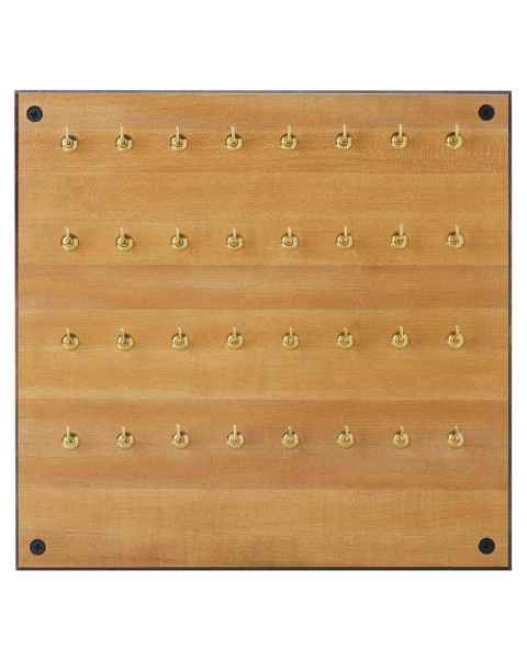 Formica Storage Board - 32 Hooks