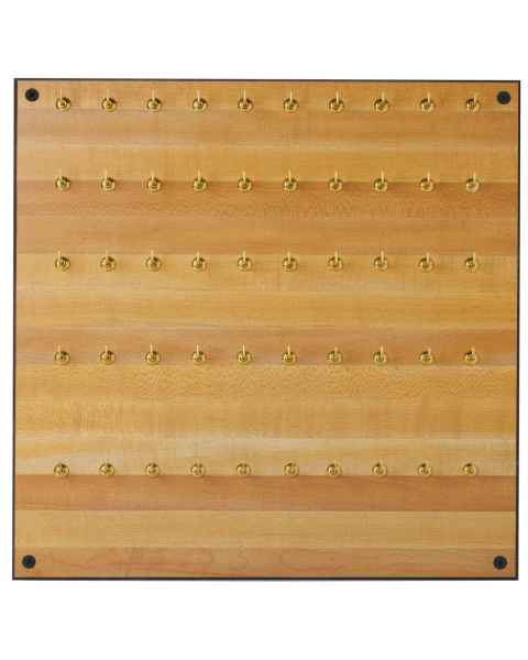 Formica Storage Board - 50 Hooks
