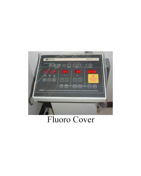Non-Sterile Fluoro Covers with Tape