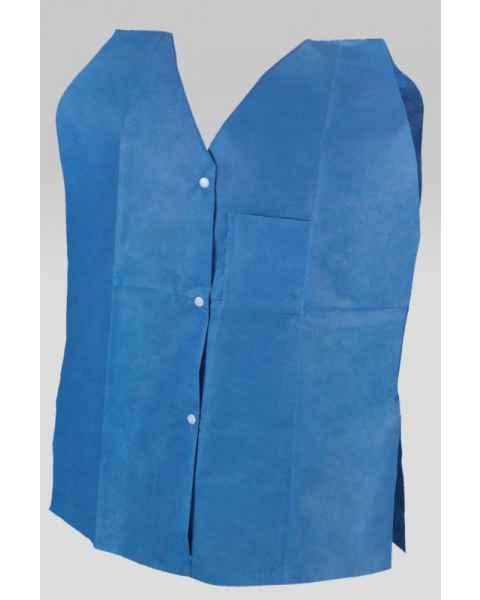 Techno Aide GMV-30 Disposable Mammo Exam Vest Bold Blue