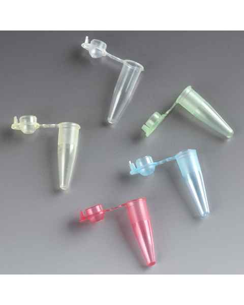 0.2mL PCR Tubes - Thin Wall Polypropylene with Attached Dome Cap
