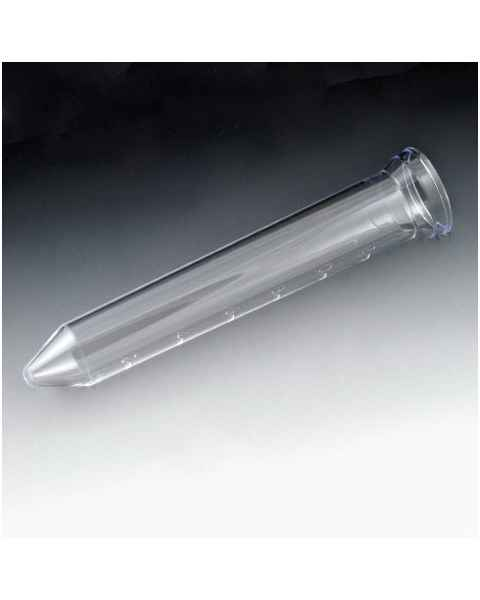 12mL Urine Centrifuge Tube with Flared Top - Graduated - Polystyrene - Conical Bottom