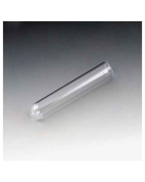 12mm x 55mm (3mL) Test Tubes - Polystyrene (PS) - Round Bottom