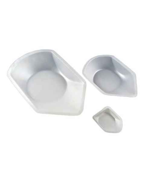 Plastic Antistatic Weighing Dishes with Pour Spouts - Polystyrene