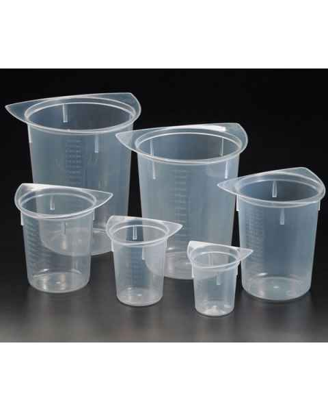 Tri-Corner Beakers - Clarified Polypropylene