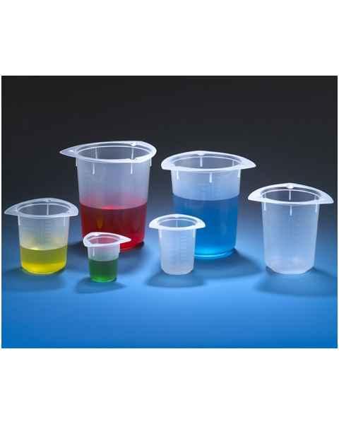 Tri-Corner Beakers - Polypropylene (PP) - Economy Style