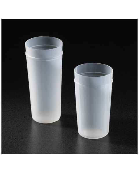 Flexivial Hematology Cups - Polyethylene (PE) - 30mL Capacity