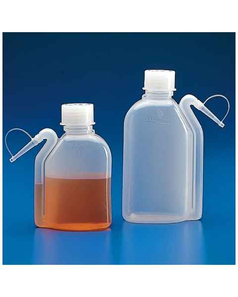 Wash Bottle (LDPE) with Integrated Dispensing Tip and Screwcap (PP)