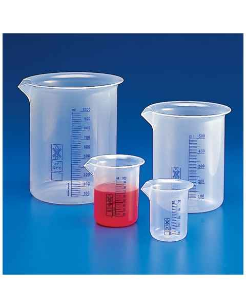 Beakers - Printed Graduations - Polypropylene