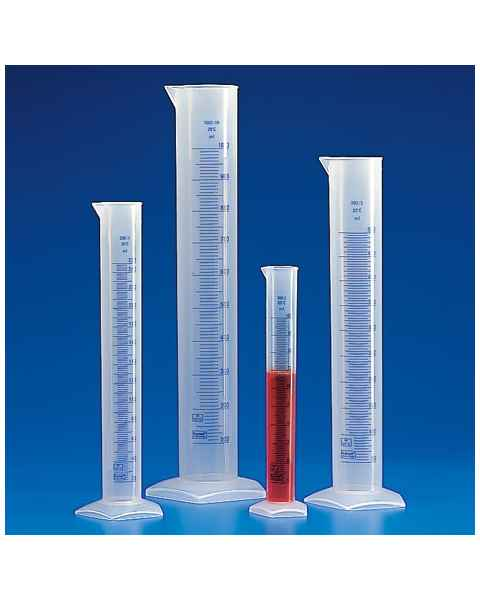 Graduated Cylinders - Printed Graduations - Polypropylene