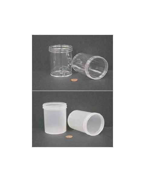 "240mL (8 oz) Wide Mouth Jar with 70mm Opening - 2 7/16"" x 3 3/8"""