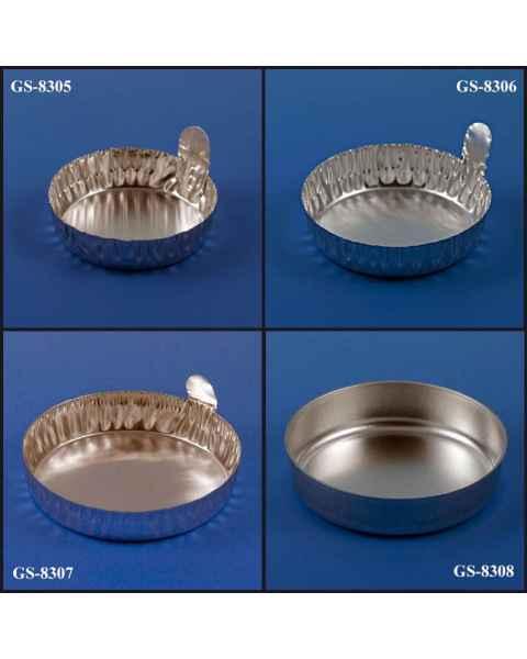 Aluminum Round Dishes