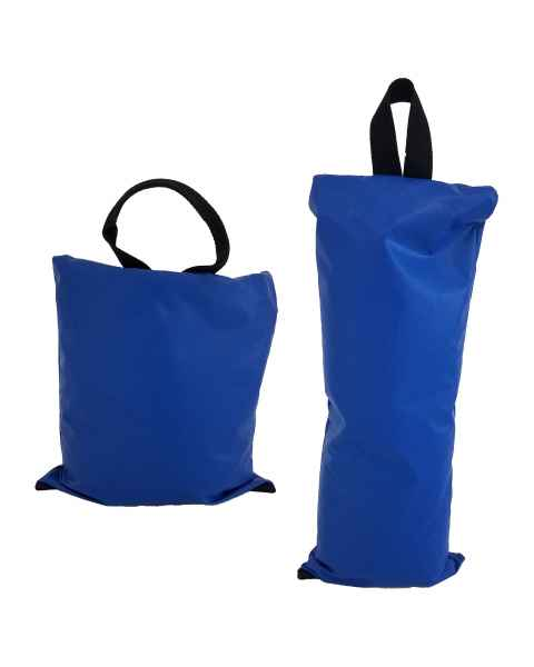 "7 lbs - Size 10"" x 10"" and 10 lbs - Size 7"" x 16"" Sand Bags"