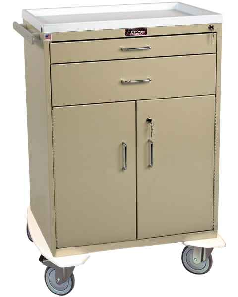 Classic Line Treatment Cart - Two Drawer with Lower Storage Compartment - Standard Package