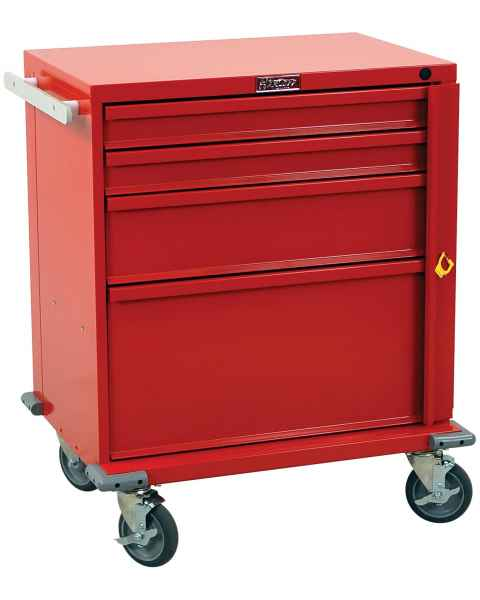 V-Series Emergency Cart Four Drawer - Standard Package