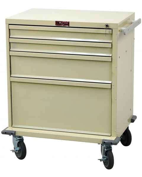 V-Series Treatment and Procedure Cart - Short Four Drawer