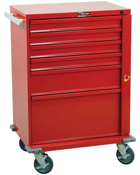 V-Series Emergency Cart Six Drawer - Standard Package