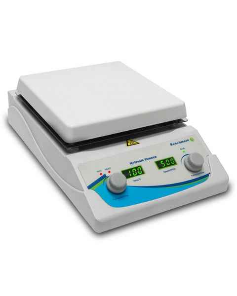 "Benchmark Scientific H3770-HS Digital Hotplate Magnetic Stirrer - 7"" x 7"" Platform"