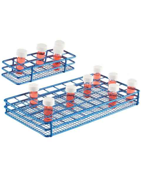 HS Bijou Bottle/Tube Wire Racks - 25mm Diameter Well