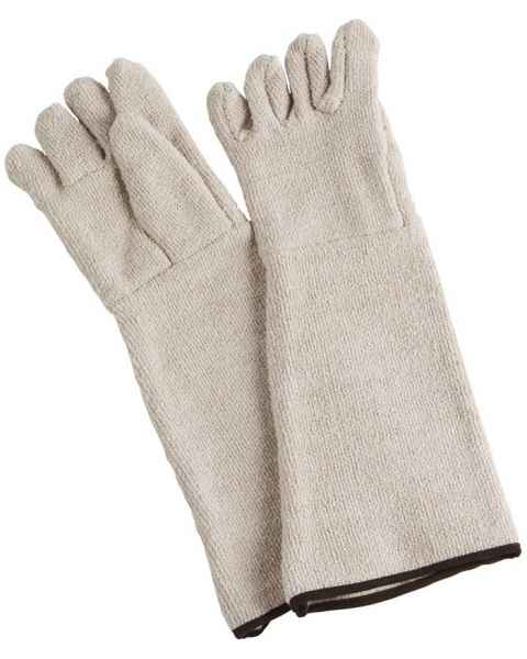 "Heat Resistant Gloves - Approximately 18.9"" Overall Length"