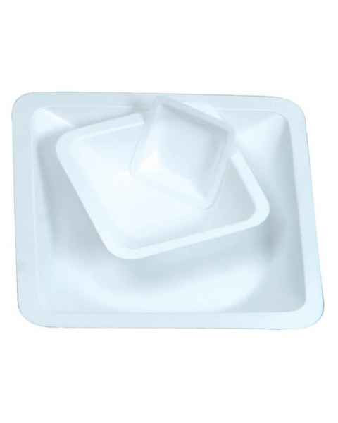 Disposable Polystyrene Anti-Static Standard Weighing Boats - White