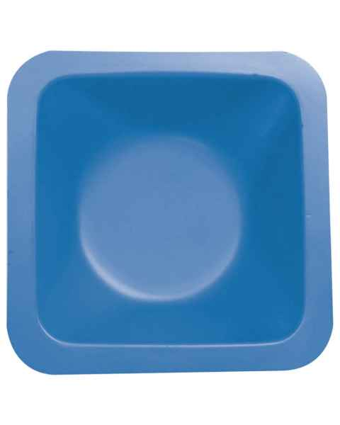 Disposable Blue Polystyrene Lab Standard Weighing Boat - Medium