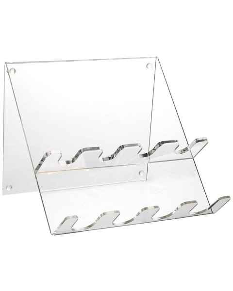 4-Place Clear Acrylic Pipettor Stand