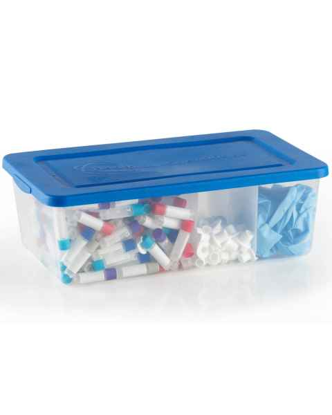 Tubby Storage Container with Lid and Divider