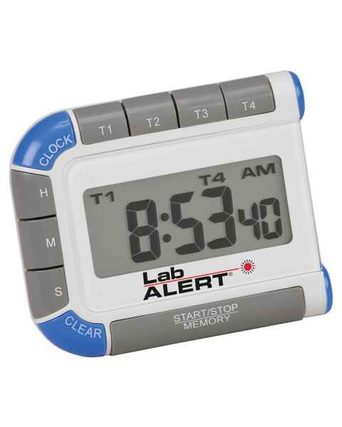 Lab Alert Four Channel Timer/Clock