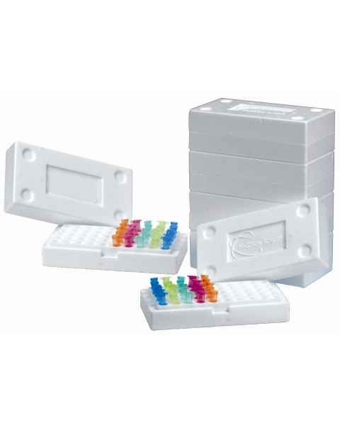 50-Well EPS Foam Tube Rack