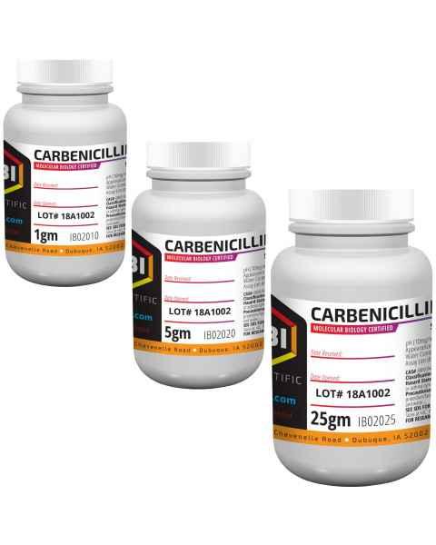 IBI Carbenicillin Disodium Salt Antibiotic