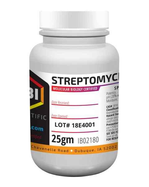 IBI Streptomycin Sulfate - 25g