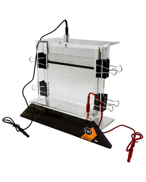 IBI VCV Single-Slab Vertical Electrophoresis System - 18cm x 22cm - Full Assembly